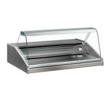 Vitrine réfrigérée, VR 2005 1000, vitre bombée, sans support, statique, + 0° +6° C