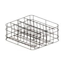 Panier verre carré, fond incliné, pour lave-vaisselle