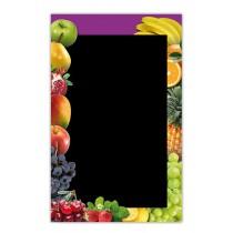 Panneau pour ventes de fruits et légumes, 440 x 770 mm
