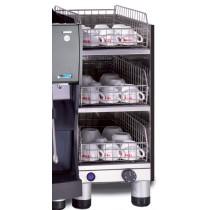 CHAUFFE TASSES (3 niveaux) inox pour machine automatique Conti TT388