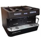 Machine espresso à dose professionnelle CONTI pour CAPSULES NC/FAP, CAP ONE, 2 groupes, all black