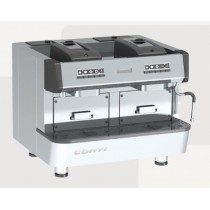 Machine espresso à dose professionnelle CONTI pour pods ESE, CAP ONE, 2 groupes