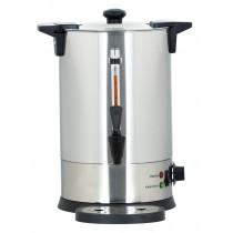 Distributeur d'eau chaude professionnel 6.8 L, en inox