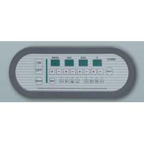 Panneau de commande Z3000 avec H2O actif pour machine a emballer sous vide max 42