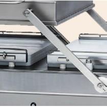 Basculement automatique de la cloche pour machine a emballer sous vide industrielle, TITAN