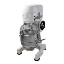 Batteur mélangeur, structure laqué blanc, 30 litres, 1500 W