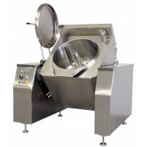 Marmite basculante électrique avec mélangeur 300 L, chauffage indirect