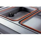Conditionnement et emballage, operculeuse barquette, semi-automatique industrielle BS 25 PRO sans matrice