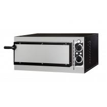 Four à pizza, éléctrique mécanique, acier inox, Basic 1/40