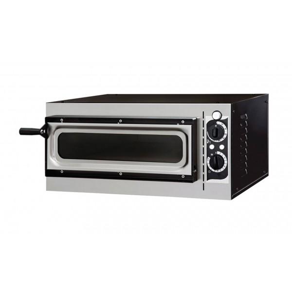 Four à pizza, éléctrique mécanique, acier inox, Basic 1/40 GLASS & LIGHT
