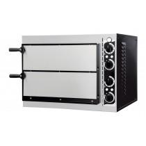 Four à pizza, éléctrique mécanique, acier inox, Basic 2/40
