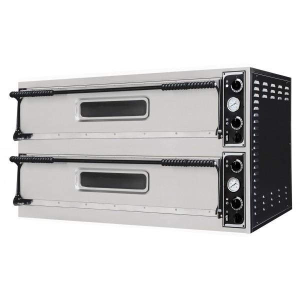 Four à pizza, éléctrique mécanique, acier inox, Basic 66 L