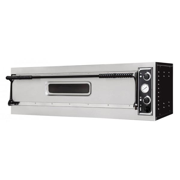 Four à pizza, éléctrique mécanique, acier inox, Plus XL 9