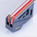 Soudure et coupure temps ajustable séparément pour machine a emballer sous vide industrielle, TITAN F 1000