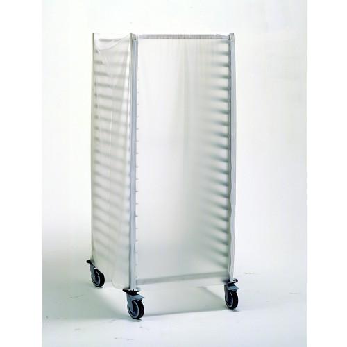 Housse avec fermeture à glissière pour les chariots GN 2/1 à 10-17-20 niveaux
