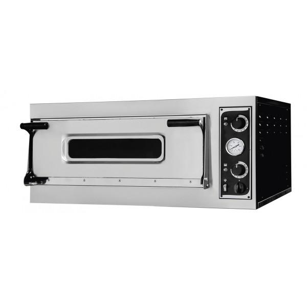 Four à pizza, éléctrique mécanique, acier inoxydable, TRAYS 4