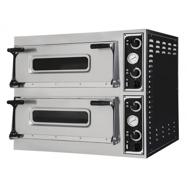 Four à pizza, éléctrique mécanique, acier inoxydable, TRAYS 44