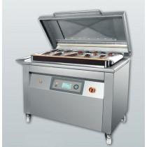 Machine sous vide industrielle automatique, en inox, BUSCH 160 m3/h, modèle CV 1000 PRO