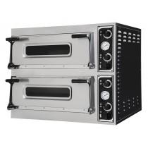 Four à pizza, éléctrique mécanique, acier inoxydable, TRAYS 66