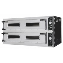 Four à pizza, éléctrique mécanique, acier inoxydable, TRAYS 99