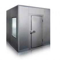 Chambre froide ép.150 avec sol, négative, gamme MATRIX, L 4300 x P 4300 x H 2430 mm