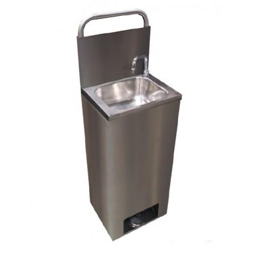 Lave-mains autonome économique en inox
