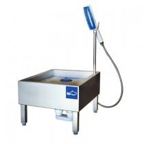 lave-botte professionnel manuel , inox AISI 304