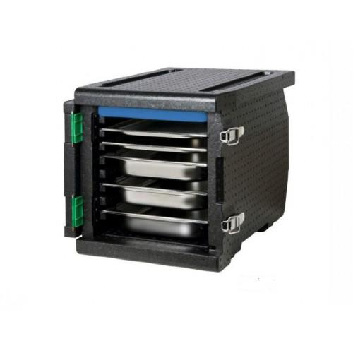 Boîte isotherme à ouverture frontale, 8 x GN1/1 (pas de 32 mm)