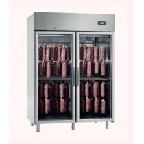 Armoire de maturation pour viande ou le sèchage, capacité suspente, 2 portes vitrées