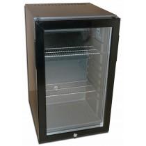 Minibar porte vitrée, 50 L, 0,09 Kw, 4°+10°C