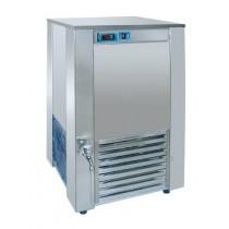 Refroidsisseurs d'eau, boulangerie-patisserie, réfrigération indirecte, sans mélangeur d'eau, E 100 AC 660 x 660 x 1170 mm