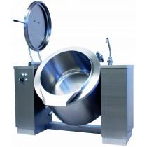 Marmite basculante électrique 200 litres, chauffage indirect, 24,5 Kw