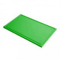 Plaque de découpe cuisine multicolore, polyéthylène alimentaire, GN1/1, L 530 x P 325 x H 15 mm