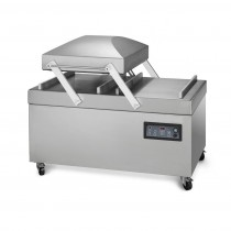 Machine sous vide industrielle, en inox, Elmo Rietschle 150 m3/h, modèle ACS PA 2-760