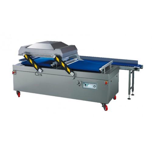 Machine sous vide industrielle automatique, en inox, BUSCH 300 m3/h, modèle ACS P AUTO