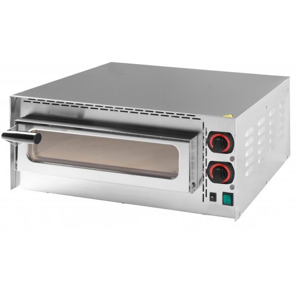 Four À Pizza 400, acier inoxydable AISI 430, 2000 W