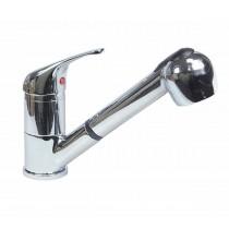 Robinetterie cuisine, douchette extractible, flexible L-1500mm