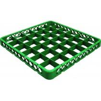Réhausse casier à verre, vert, 36 compartiments