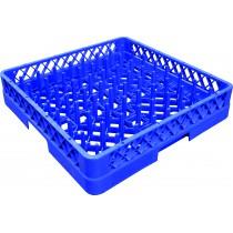 Casier à assiettes avec picots, couleur bleu