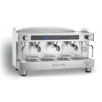 Machine à café espresso BEZZERA B2016 DIGITA DE - 3 Groupes