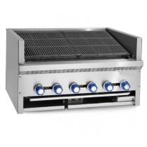 Grill Steakhouse, grand débit et flexibilité, version comptoir, 5 brûleurs, 29 kw