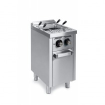 Cuiseur à pâtes à gaz, 25 L, série 600, sur placard