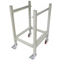 Support pour bouleuse, inox avec pieds PFSU107 530 x 570 x 850 mm