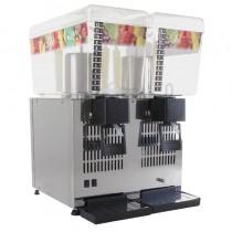 Distributeur de boissons réfrigérées 2 x 12 L