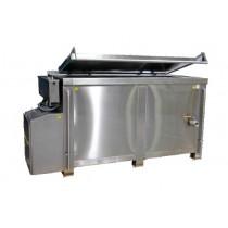 Marmite de cuisson gaz flamme directe 500 litres, 66,6 kW / heure