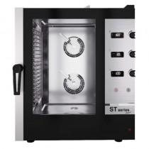 Four mixte à injection de vapeur, commande mécanique afficheur digital, série ST COMPACT, 10 x GN 1/1, L 530 x P 795 mm