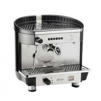 Machine à café espresso BEZZERA ELLISSE 2011 DE - 1 Groupe, 230V, acier inoxydable / noir, avec chauffage électrique et gaz