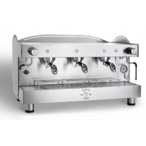 Machine à café espresso BEZZERA B2016 PM- 3 Groupes, 220-400V, acier inoxydable