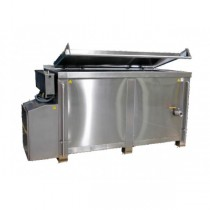 Marmite de cuisson gaz flamme directe 1000 litres, 110,5 kW / heure
