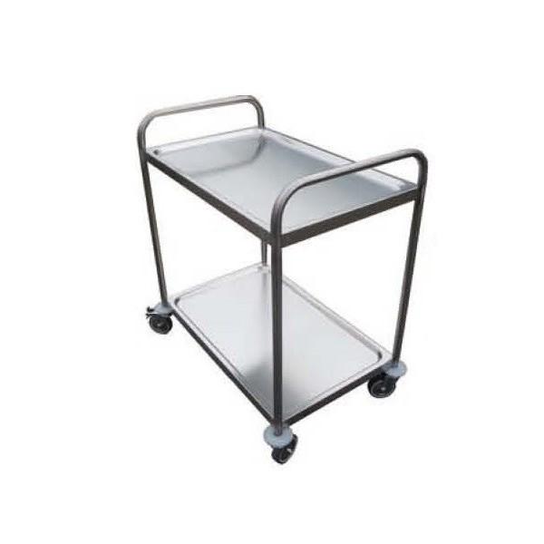 chariot de desserte pour cuisine inox 2 ou 3 plateaux. Black Bedroom Furniture Sets. Home Design Ideas
